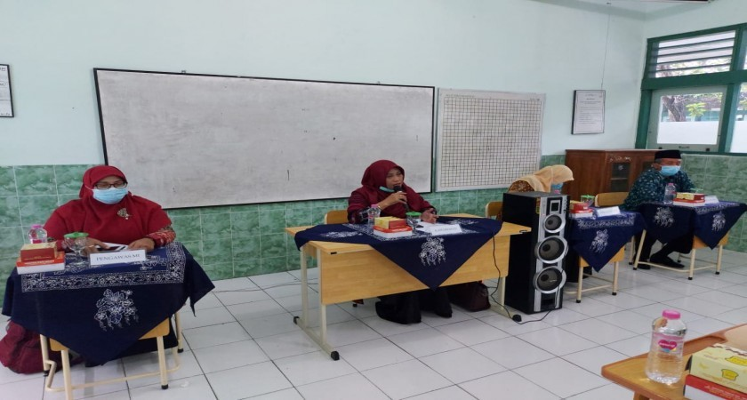 MTsN 1 Yogyakarta Sukseskan Sosialisasi PIGPM Tahun  2021