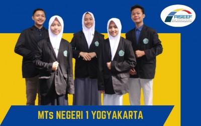 Tim Riset MTsN 1 Yogyakarta  Meraih Medali Emas di Ajang AISEEF